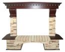 Портал Royal Flame Pierre Luxe сланец угловой для электрокаминов